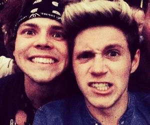 niall horan, ashton irwin, and 5sos image