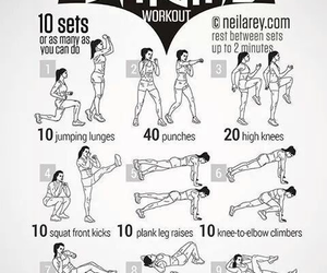 workout, batgirl, and fitness image