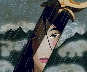 mulan, disney, and princess image