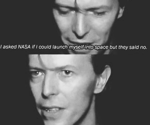 bowie, david bowie, and nasa image