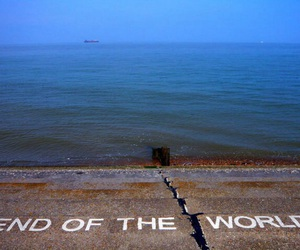 sea, end, and world image