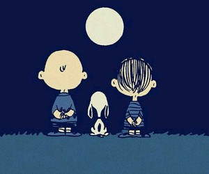 snoopy, charlie brown, and friends image