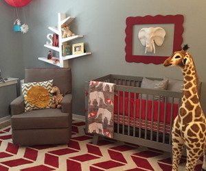 babies, baby room, and crib image