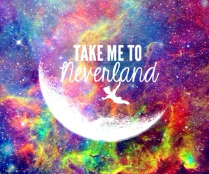 neverland, peter pan, and disney image