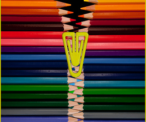 color, colorfull, and pencil image