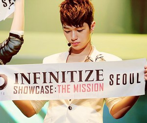 infinite, myungsoo, and L image
