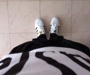 adidas, black&withe, and tennis image