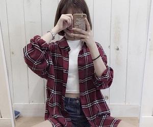 korean, girl, and asian image