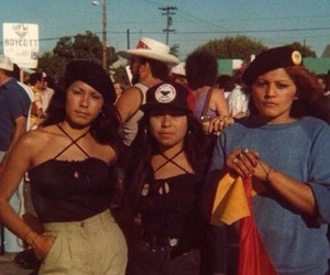 70s, chicanas, and brownpride image