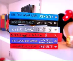 books, paper towns, and let it snow image