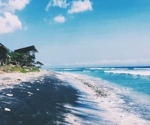 beach, summer, and beautiful image