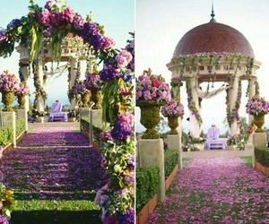 design, flowers, and pink decor image