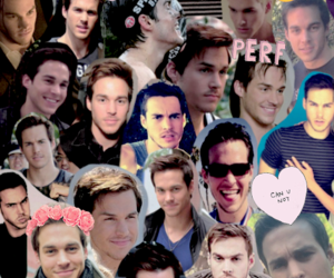 the vampire diaries, chris wood, and christopher wood image