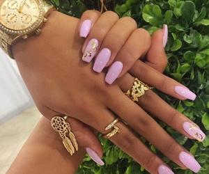 beauty, nail art, and fashion image