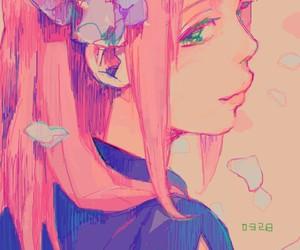 sakura and anime image