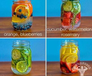 cleanse, water, and FRUiTS image