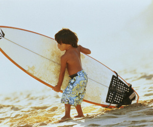 surf, boy, and beach image