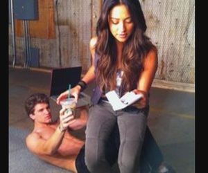 shay mitchell, keegan allen, and pretty little liars image