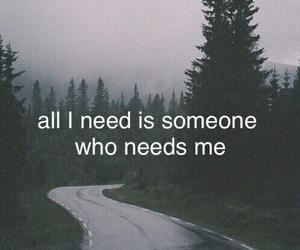quotes, need, and sad image