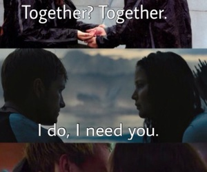 hunger games and love image