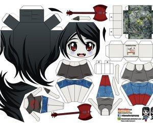 papercraft image
