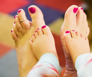 baby, nails, and feet image