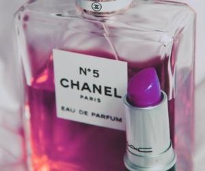 chanel, perfume, and lipstick image
