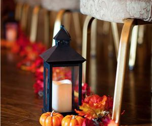 decor, fall, and leaves image