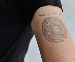 arm, happy, and ink image