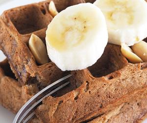 banana and waffles image