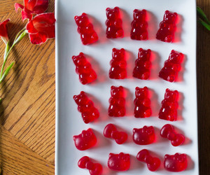 candies, gummies, and hello kitty image
