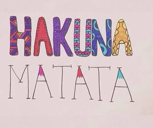 hakuna matata, quote, and text image