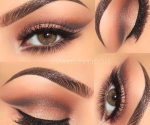 eyes, fashion, and make up image