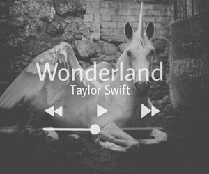 Taylor Swift, wonderland, and black and white image