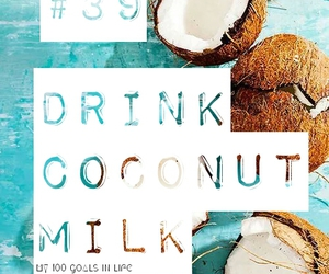 coconut, Dream, and food image