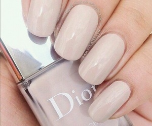 nails, dior, and beauty image