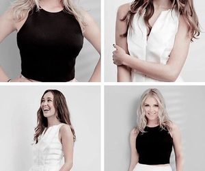 the 100, eliza taylor, and alycia debnam carey image