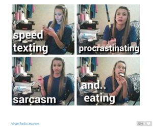 lol, sarcasm, and funny image