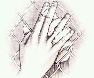 love, draw, and hands image