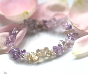 crystal, rose, and pink image