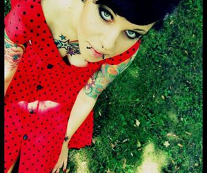fashion, ink, and mulheres image