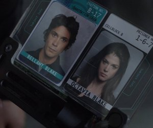 the 100, marie avgeropoulos, and bellamy blake image