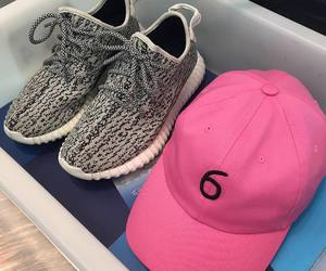 pink, shoes, and hat image