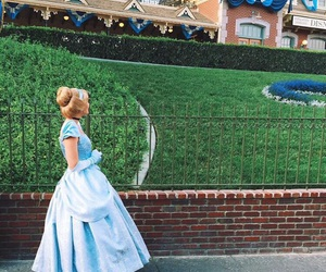 ball gown, disney, and princesses image