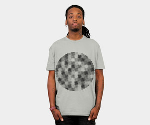abstract, pattern, and tee image