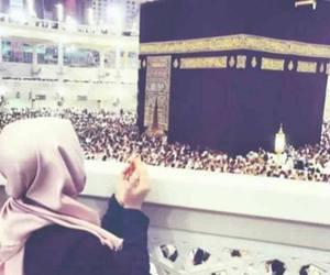 mecca, arabia, and hijab image