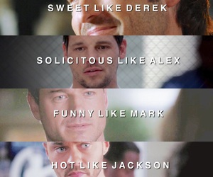 grey's anatomy, mark sloan, and alex image