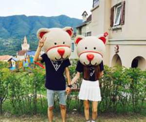 couple, cute, and funny image