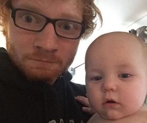 ed sheeran, baby, and ed image