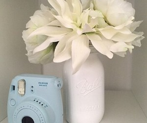 flower, blue, and diy image